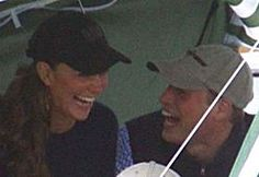 Prince William and Kate Middleton celebrating Will's 26th birthday with friends and a picnic, at a polo club in Gloucestershire in June 2008.