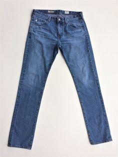 Adriano Goldschmied AG Jeans The Nomad Modern Slim Men's Size 33x34 Distressed #AGAdrianoGoldschmied #SlimSkinny