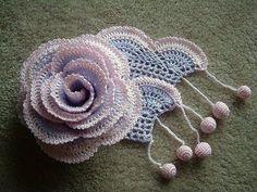 Dora croches e cia: flores em croches