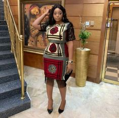 Cute And Lovely Fabulous Ankara Gown Styles For Ladies By Diyanu Ankara Dress Styles, Ankara Gowns, African Print Dresses, African Dress, African Fashion Ankara, Latest African Fashion Dresses, African Print Fashion, Africa Fashion, African Attire