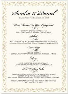 40 Best Menu Cards For Wedding Images Wedding Menu Cards Wedding