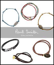 Paul Smith Collection|ポール・スミス コレクションのトピックス「◆コーディネイトの仕上げに◆ブレスレット特集