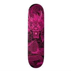 Samurai Girl One Pink Element Custom Pro Deck - girl gifts special unique diy gift idea