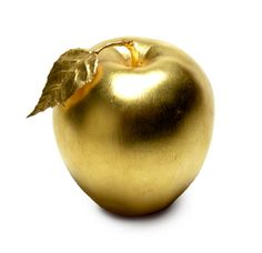 "Eris threw a golden apple into the Wedding Feast labeled ""To the Fairest."" Paris gave the prize to Aphrodite in exchange for Helen of Troy Golden Apple, Color Dorado, Goddess Of Love, Gold Rush, Gold Gold, Metallic Gold, Mellow Yellow, Inspiration, Glitters"