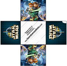 Forminhas Docinhos Lego Star Wars: