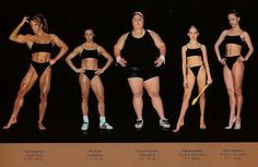 one of the better body references I've ever seen.  All of these people are ridiculously fit, operating in the top echelons of their sports world-wide.  But there's a vast array of body types, and types of fitness.  click thru for more pics