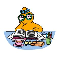 I think Barbotine (Barbabientje) from Barbapapa is lesbian, what do you think? My Coffee Shop, Monsieur Madame, 80 Cartoons, Happy Morning, Lisa S, Genderqueer, Funny Stories, Love Book, Illustrations