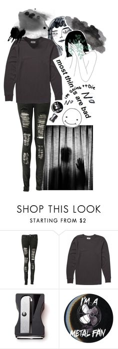 """my mind is a mess that i can't escape."" by tokyo-fool ❤ liked on Polyvore featuring Boohoo, Billabong, Monkey Business and Hot Topic"