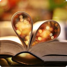 here's my heart. from the pages of a book, no less. This is me, I love to read!!! Why did I pin this on this board, because I have something so many others don't have, the ability to read books and cry when I'm done with a book.