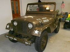 Willys : M38 A1 ARMY 1954 WILLYS JEEP M38-A1 ARMY - http://www.legendaryfinds.com/willys-m38-a1-army-1954-willys-jeep-m38-a1-army/