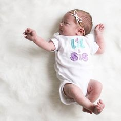 Oh my gosh! The sweetest lil sis in our classic white dainty bow headband. Gorgeous shot: @ashtontackett . Our headbands are gentle enough even for the tiniest babes. http://ift.tt/1IJ4fGX