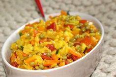 Paella aux légumes Weight Watchers