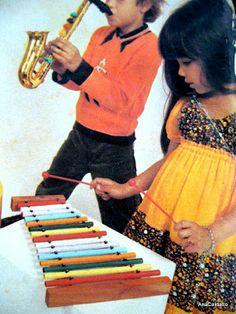 xilofone -  Brinquedos Musicais Hering