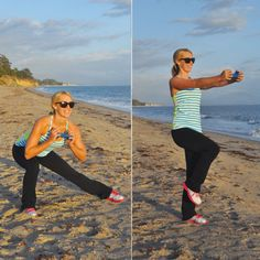 Top Five Moves for Major Fat Burning: Lateral Lunge to Chest Press