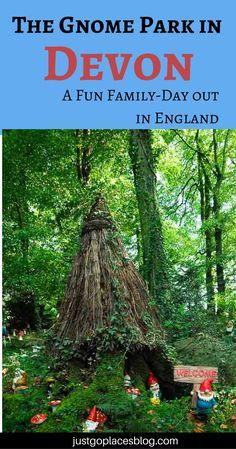 The gnome reserve makes a great family day out in North Devon | Gnome village | #familytravel #NorthDevon | #gardengnomes