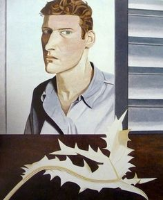 Lucian Freud Man with a Thistle (Self-Portrait), 1946
