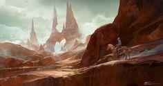 ArtStation - The Desert fun, jeremy chong