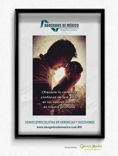 Ofrecerte la certeza y confianza de que estás en las mejores manos, es nuestra prioridad.  En ABOGADOS DE MEXICO te ofrecemos un Plan Integral para trasmitir tu patrimonio a tus seres queridos de una manera segura.  Powered By: GENIUS MEDIA Interactive Agency