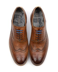 Oxford brogue shoe - GURI by Ted Baker