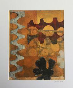 Monoprinting on a gel plate. Plate Collage, Gelli Plate Printing, Jennifer Love, Prints, Painting, Art, Painting Art, Paintings, Kunst