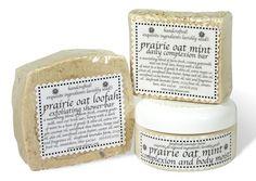 Prairie Oat Mint Trio, BATH & SHOWER TREATS, DayBreak Lavender Farm