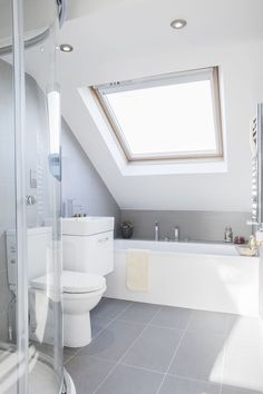 Attic renovation bathroom ideas