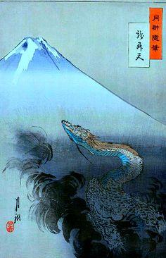 Kuraokami 闇龗 God of rain and snow