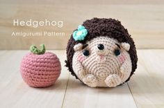 Get the free hedgehog amigurumi pattern for this cute little Mimi-chan. It is so cute that you would hold it on your palm with it's roll-up posture. - Page 2 of 2