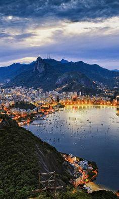 Admire the view in Rio de Janeiro, #Brazil.