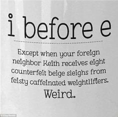 Haha so funny. My oldest spelling words are in here. And she has repeated a saying all week. The Words, Logo Eye, Grammar Humor, Biology Humor, Chemistry Jokes, Grammar Rules, Science Jokes, Punctuation Humor, Bad Grammar