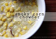 The Lady Okie: Real Simple Recipe: Smoky Corn Chowder
