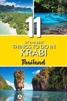 Krabi Thailand | Looking for things to do in Krabi? Here are our top recommendations on the best things to do and where to stay while in Krabi.