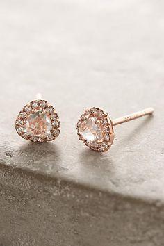 14k Gold Gemstone Earrings - anthropologie.com