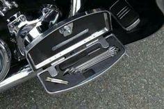 Footrest toolbox