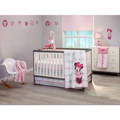 "Disney Baby Minnie Mouse Polkadots 4 Piece Crib Set - NoJo  - Babies""R""Us"
