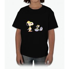 Snoopy And Woodstock Easter Shirt Young T-Shirt