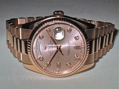 Rolex Day Date President Rose Gold Pink