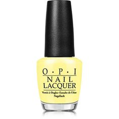 OPI rolls out the sweet, insouciant days of summer with the limited-edition Retro Summer Nail Lacquer Collection (featured: Sunny Yellow) perfect for luxuriating on the French Riviera, vintage-style. The ultimate vacation from drab and dull, the sun and sky-drenched colors of Retro Summer 2016 channel the throwback fashions that ruled the season's runways.