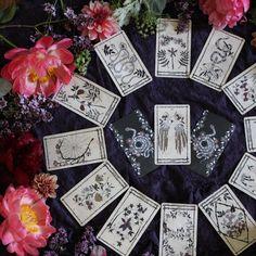 botanical tarot deck