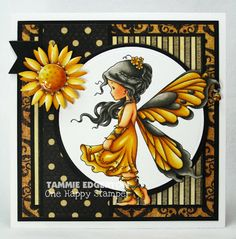 One Happy Stamper...: FALL FAIRY AND BLOG CANDY