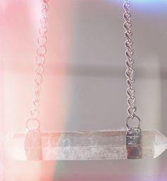 Balanced Quartz Necklace