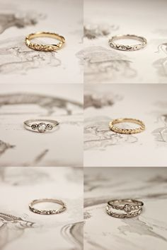 new *RUST* wedding rings available online
