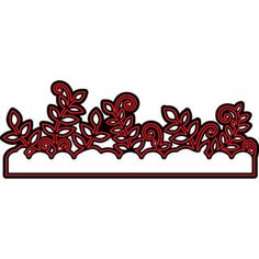 Darice® Craft Dies: Foliage Die Cut Border