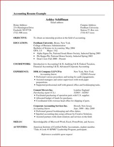 Accounting Internship Resume Objective Best Of Accountant Resume Sample Canada Site Accountant Resume Sample Canada Cover Letter Template, Template Cv, Resume Template Examples, Student Resume Template, Best Resume Template, Resume Ideas, Cover Letters, Resume Tips, Resume Objective Statement