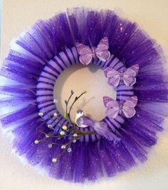 Image result for tulle wreath