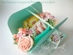 ПОКОРИ Идею! Идеи! Мастер-классы! Товары! | ВСоюзе Chocolate Pack, Diy And Crafts, Arts And Crafts, Chocolate Bouquet, Candy Bouquet, Chocolates, Cool Gifts, Gift Baskets, Flower Art