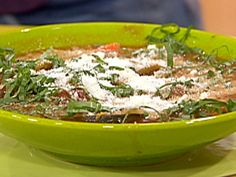 Get this all-star, easy-to-follow My Mom's Tomato and Bean 15 Minute Stoup recipe from Rachael Ray