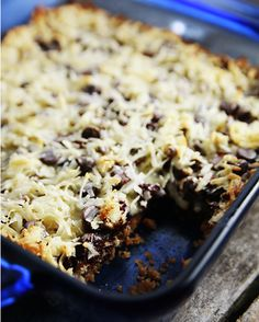 Fat Witch Bakery Congo Bars Recipe   Cookie Bars Recipes   Savory Sweet Life - Easy Recipes from an Everyday Home Cook