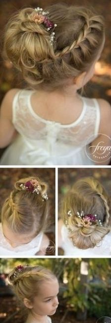 Wedding Hair And Makeup, Bridal Hair, Hair Makeup, Hair Wedding, Dress Wedding, Flower Girl Hairstyles, Little Girl Hairstyles, Teenage Hairstyles Girls, Toddler Hairstyles