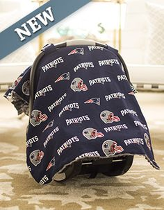 "Free New England Patriots Car Seat Cover, Click the picture, enter Promo Code ""Baby23"" at checkout & pay shipping!  newborn, nursing cover, baby leggings, newborn photography, crib bedding sets,baby headband, infant clothing, diaper bags, baby furniture, nursery furniture, nursery decals, nursery decoration, baby socks, baby girl shoes, baby shoes girls, baby girl dresses, bassinet, pregnancy photography, newborn photo ideas, baby shower ideas, baby ideas, newborn gift ideas, car seat cover,"